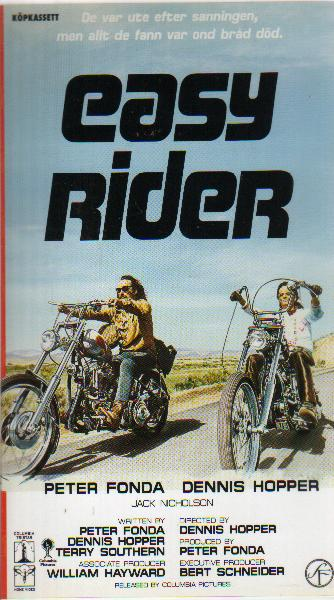 Easy Rider - VHS, Home of vintage 8mm homemovies - Super 8